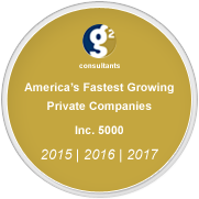 America's Fastest Growing Private Companies Inc. 5000 2015, 2016, and 2017.